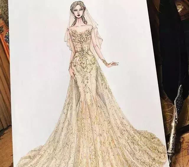 服装设计手绘你是要学会了,以下有不你想不到的技能